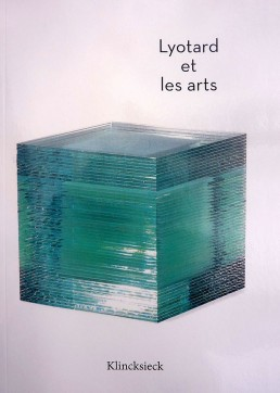 Parution du livre Lyotard et les arts