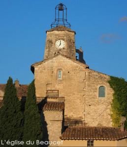 Vitraux église du Beaucet